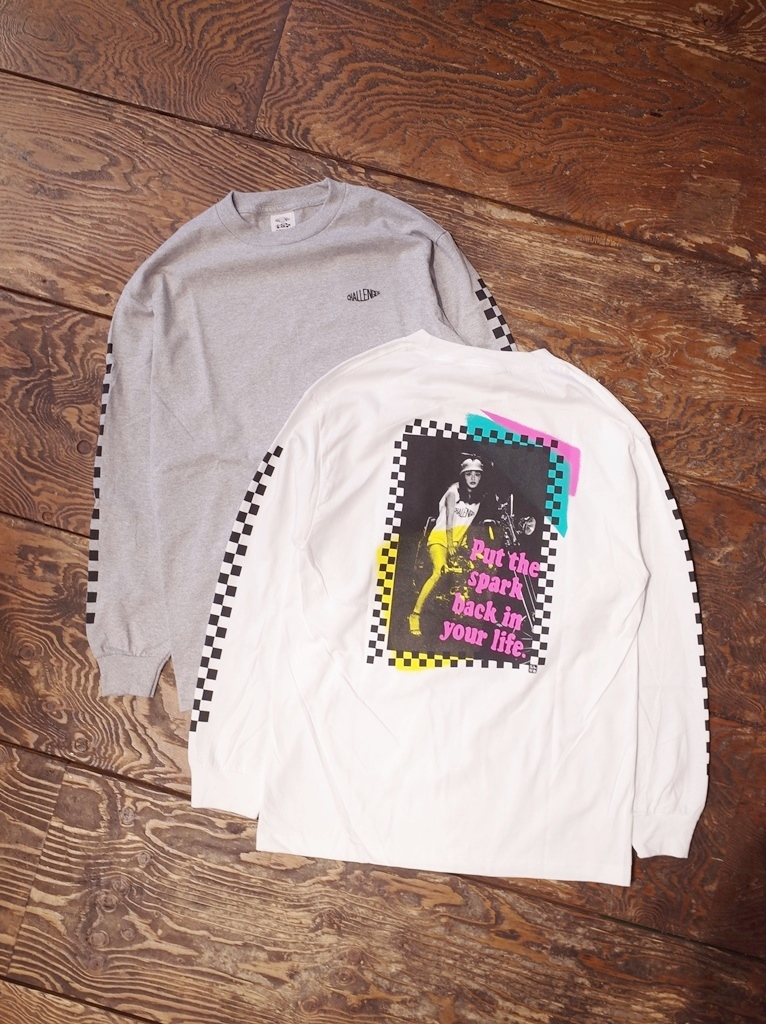 CHALLENGER X CHINGCAME  「L/S PUNK PHOTO TEE」 ロングスリーブティーシャツ