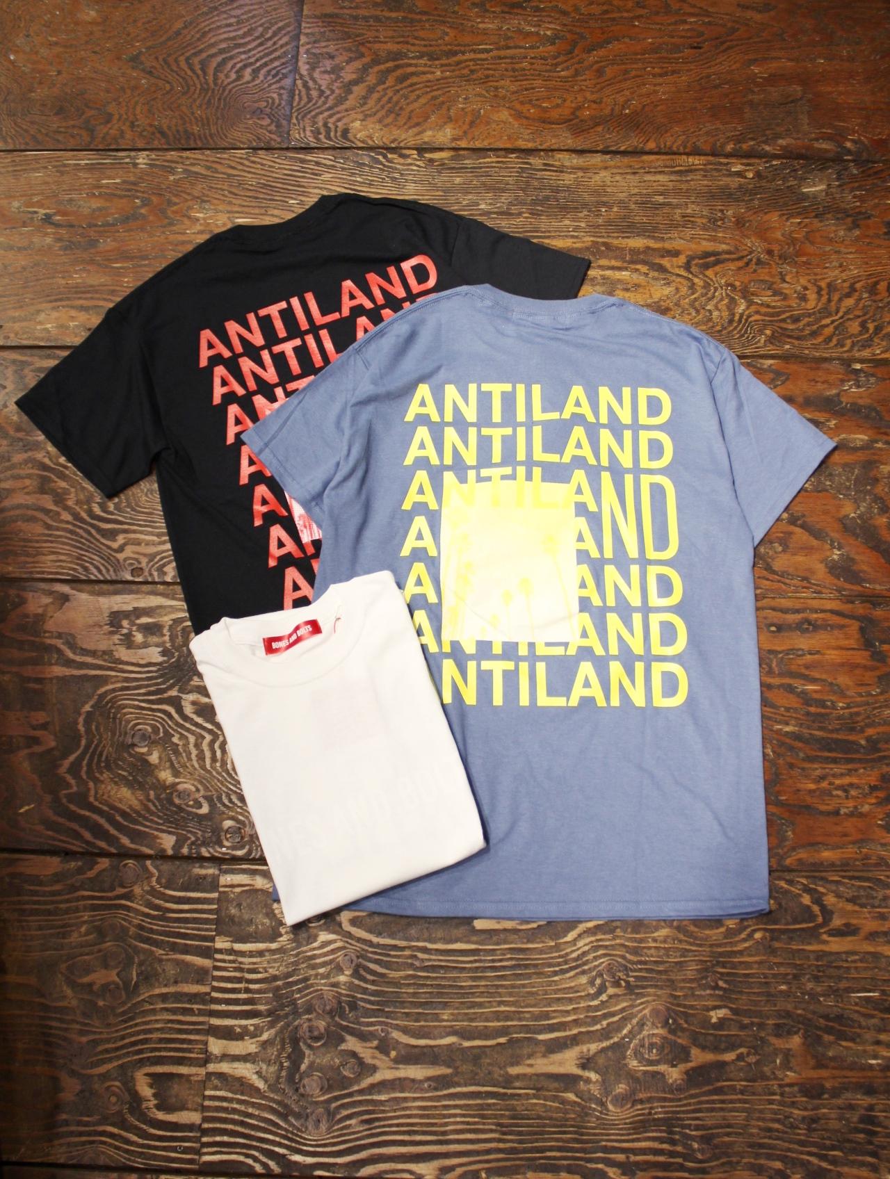 BONES & BOLTS  「TEE (ANTILAND)」 ティーシャツ
