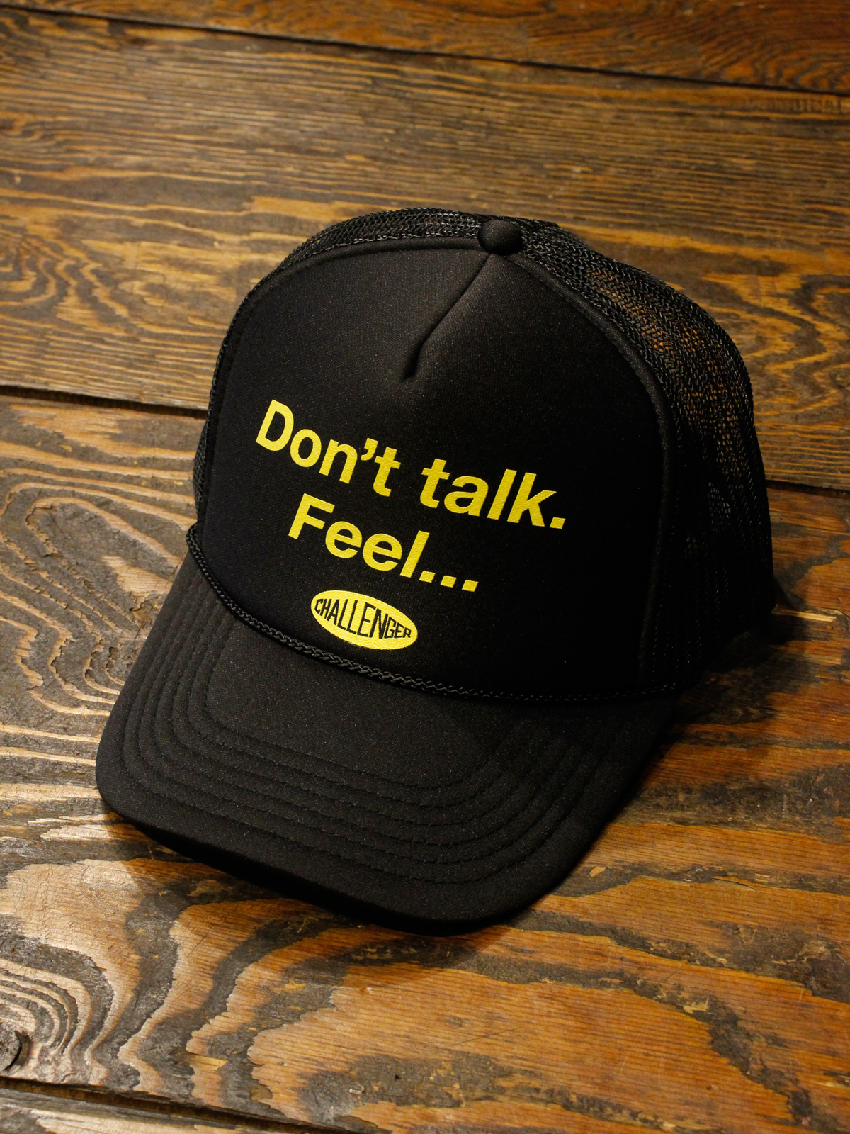 CHALLENGER    「DTF MESH CAP」  メッシュキャップ