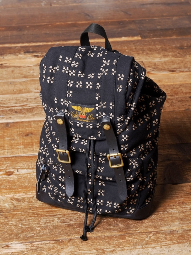 CALEE  「TRADITIONAL JAPANESE PATTERN BACK PACK」 バックパック