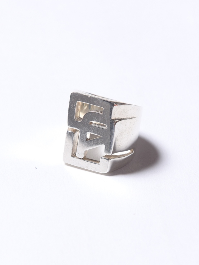 CALEE   「CAL LOGO SILVER RING」 SILVER 925製 リング