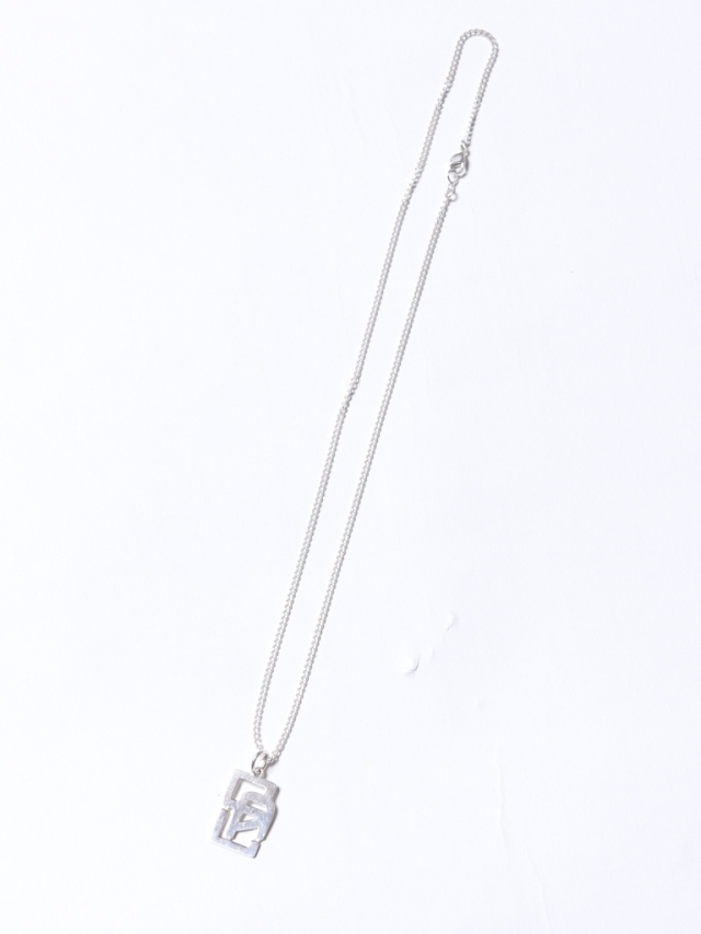 CALEE   「CAL LOGO HEAD SILVER NECKLACE」 SILVER 925製 ネックレス