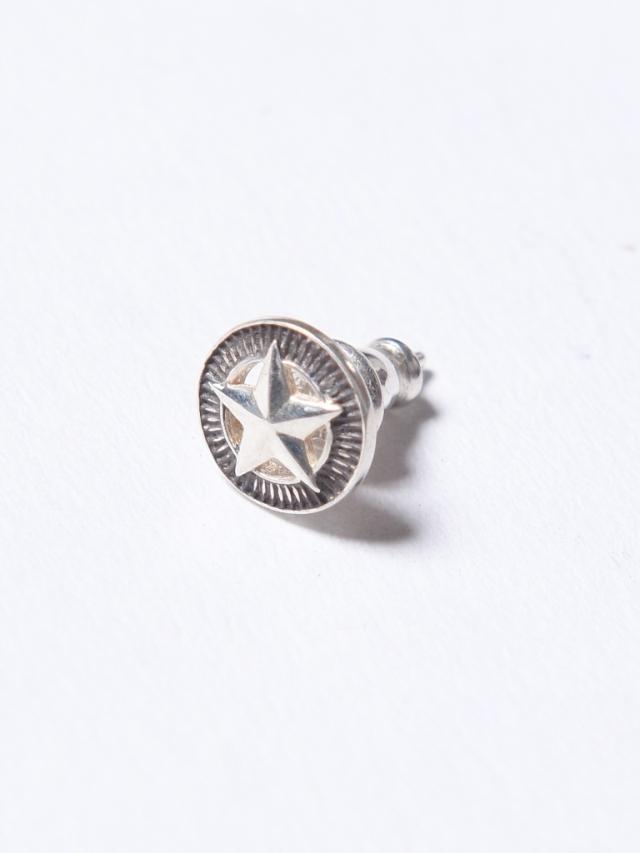CALEE 「SILVER STAR CONCHO PIERCE」 SILVER 925製 ピアス