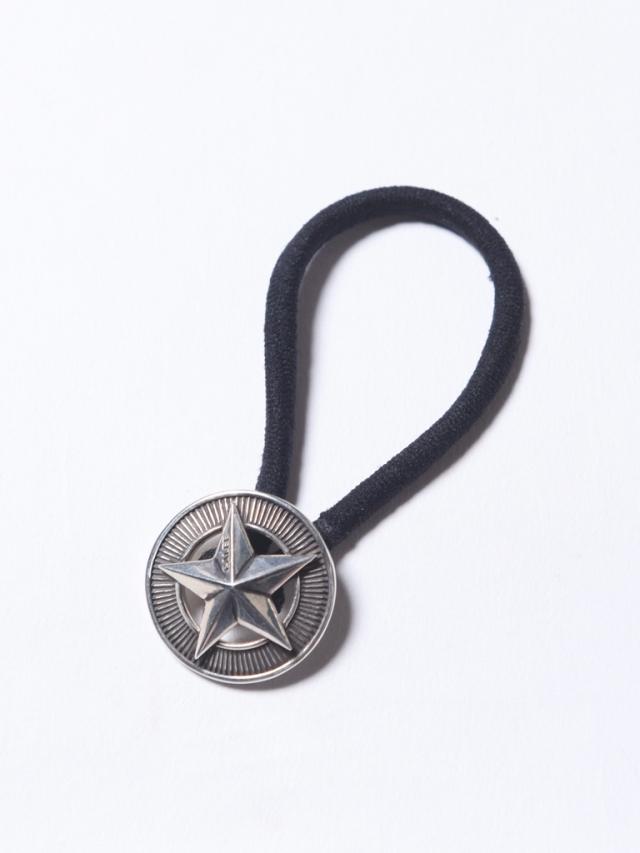 CALEE 「SILVER STAR CONCHO 」 SILVER 925製 コンチョ髪留め
