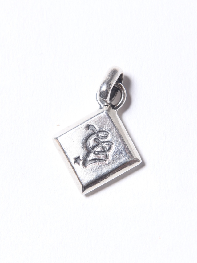 CALEE   「CAL LOGO DIAMOND CUT NECKLACE TOP」 SILVER925製 ネックレスヘッド