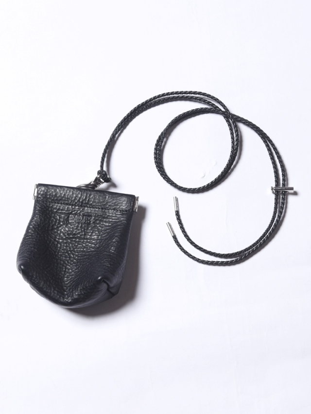 CALEE  「CAL LOGO EMBOSSING LEATHER MULTI POUCH」 レザーマルチポーチ