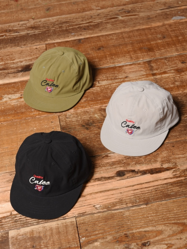 CALEE   「EMBROIDERY SEEKERS CAP」  スナップバック キャップ