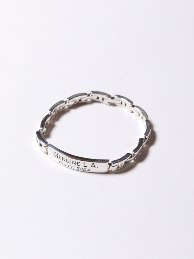 CALEE  「SILVER PLATE CHAIN BRACELET」 SILVER 925製 チェーンブレス