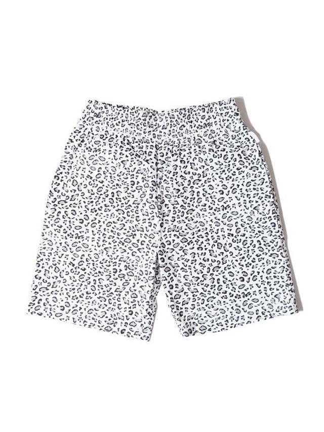COOKMAN 「Chef Pants Short Snow Leopard」 シェフパンツショート