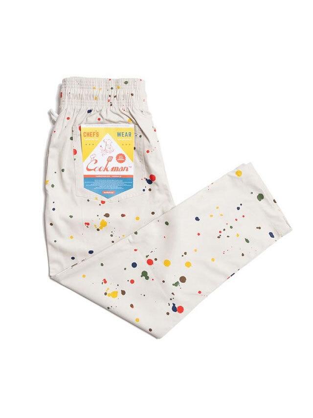 COOKMAN 「Chef Pants Sauce Splash」 シェフパンツ