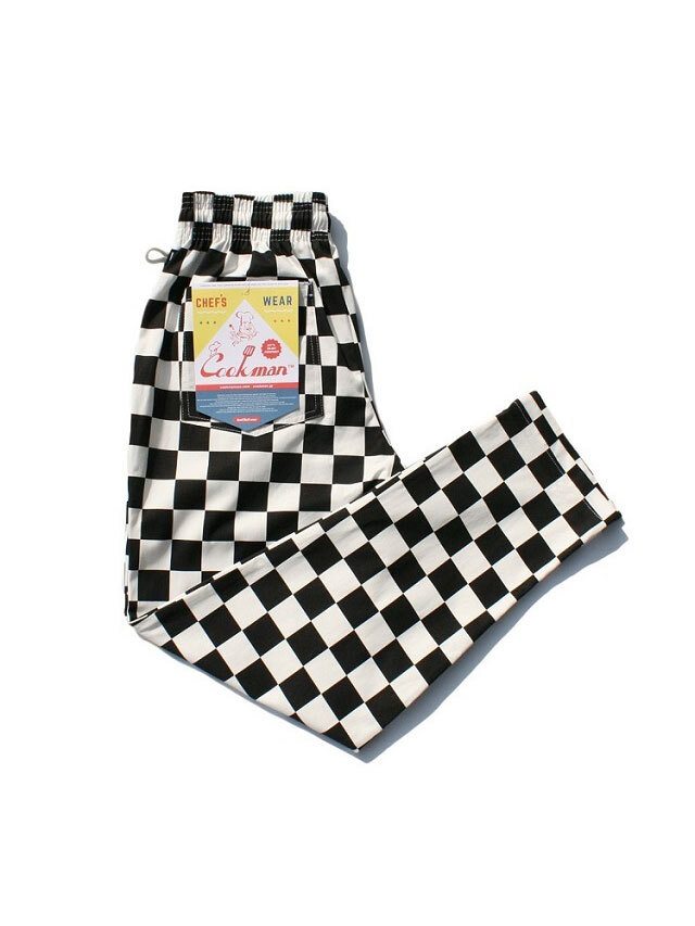 COOKMAN 「Chef Pants Checker」 シェフパンツ