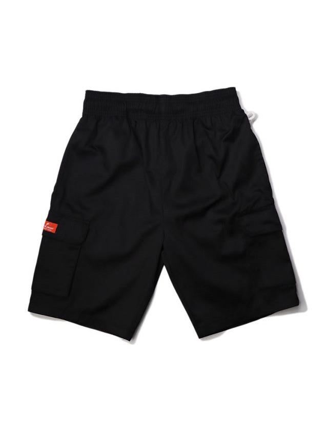 COOKMAN 「Chef Pants Short Cargo Black」 シェフパンツショート