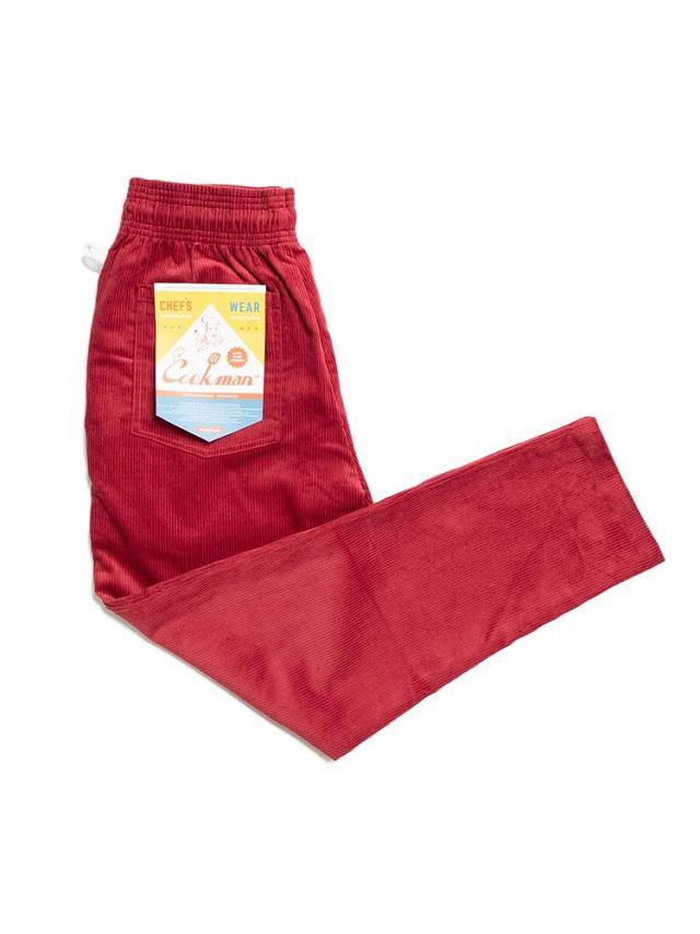 COOKMAN 「Chef Pants Corduroy Wine Red」 コーデュロイ シェフパンツ