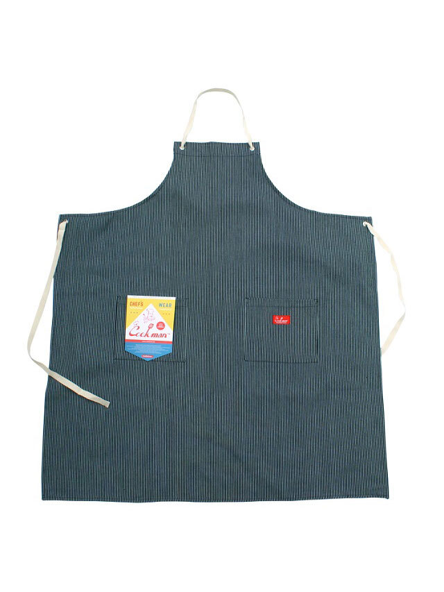 COOKMAN 「Long Apron Hickory」 エプロン