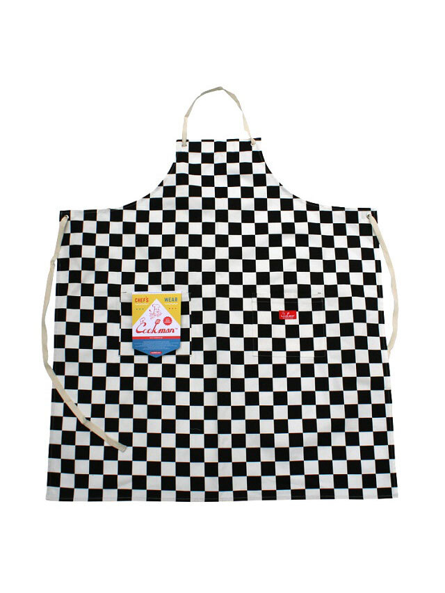 COOKMAN 「Long Apron Checker」 エプロン