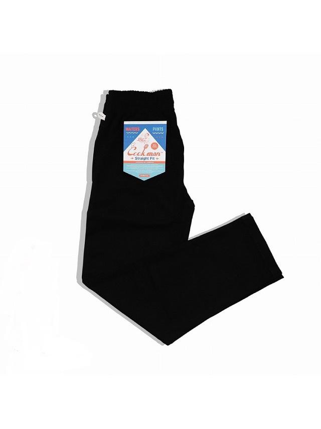 COOKMAN 「Waiter's Pants Black」 ウェイターズパンツ