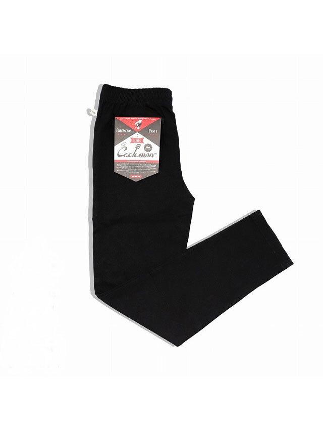 COOKMAN 「Bartender's Pants Black」 バーテンダーズパンツ