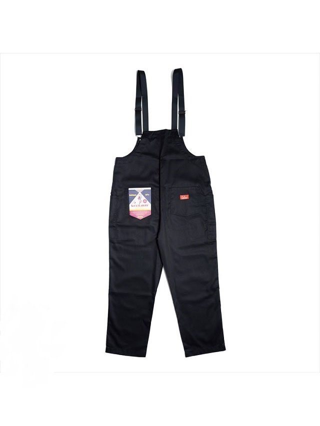 COOKMAN 「Fisherman's Bib Overall Black」 オーバーオール