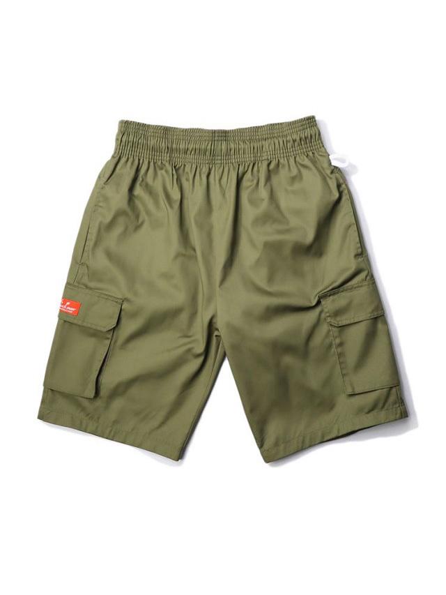 COOKMAN 「Chef Pants Short Cargo Khaki」 シェフパンツショート