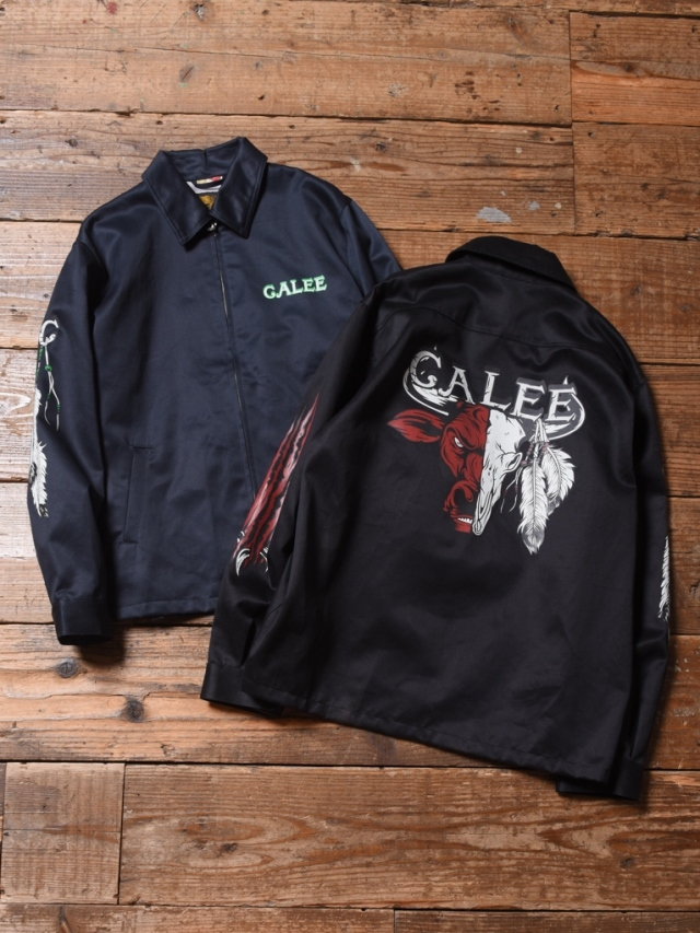 【NEW YEAR ITEM !!】 CALEE  「WORK JACKET」  ワークジャケット