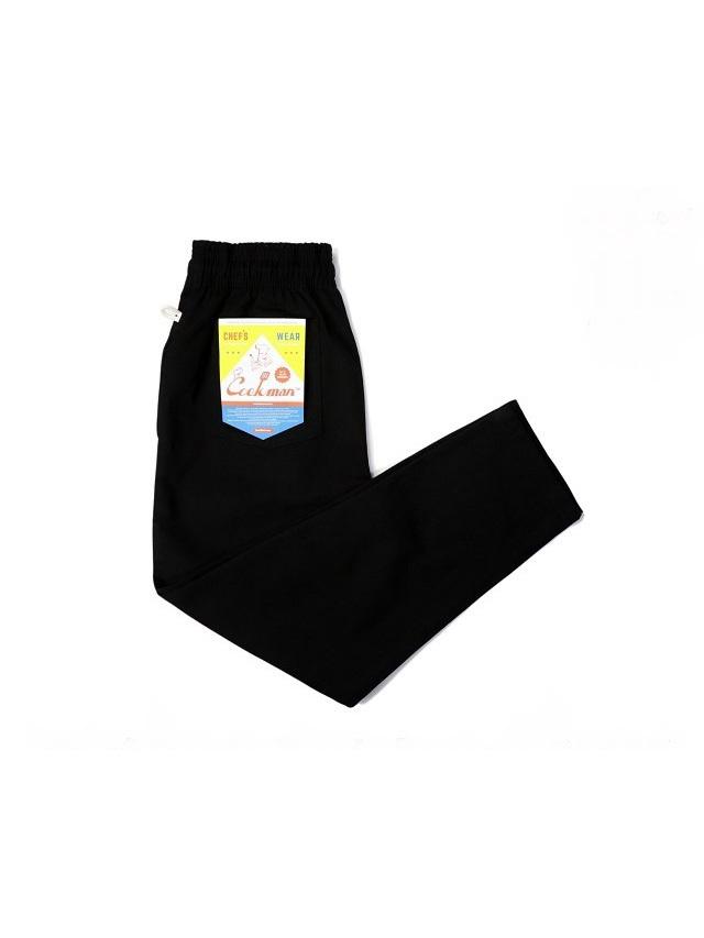 COOKMAN 「Chef Pants Duck Canvas Black」 ダックキャンバス シェフパンツ