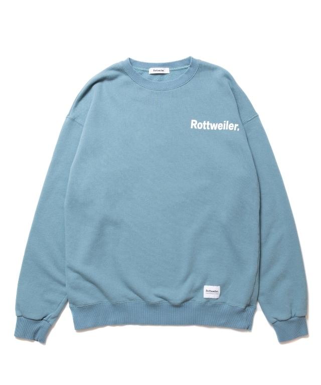 【予約商品:9月入荷予定】 ROTTWEILER  「R.W Sweater 」   クルーネックセーター