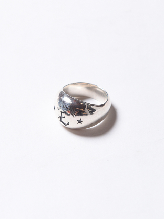 CALEE  「ROUND TYPE SILVER RING 」 SILVER 925製 リング