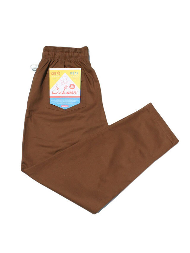 COOKMAN 「Chef Pants Chocolate」 シェフパンツ