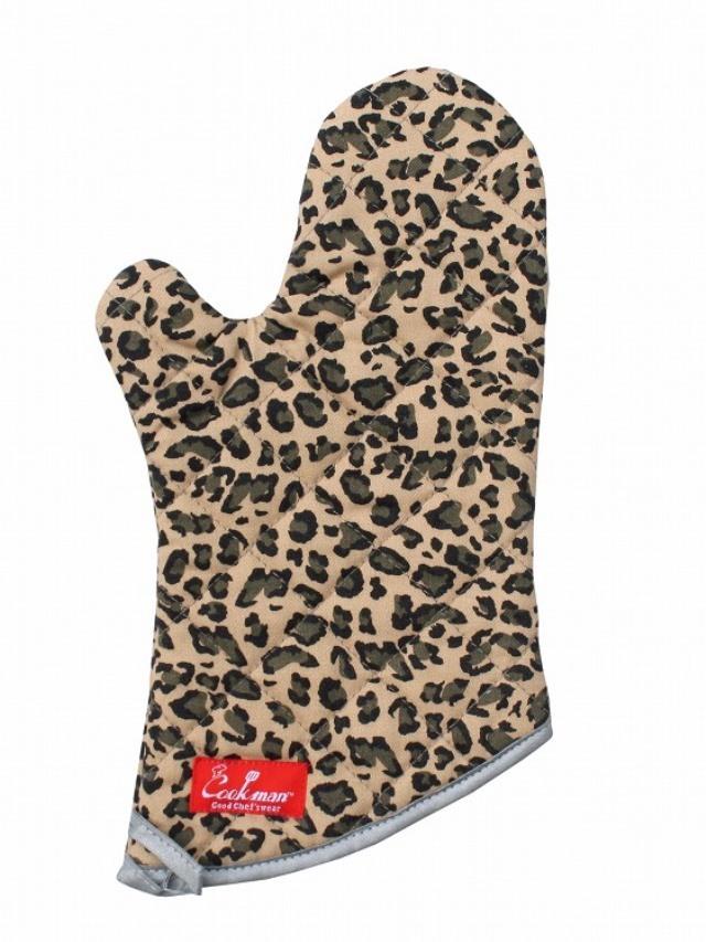 COOKMAN 「Mitten Leopard」 ミトン