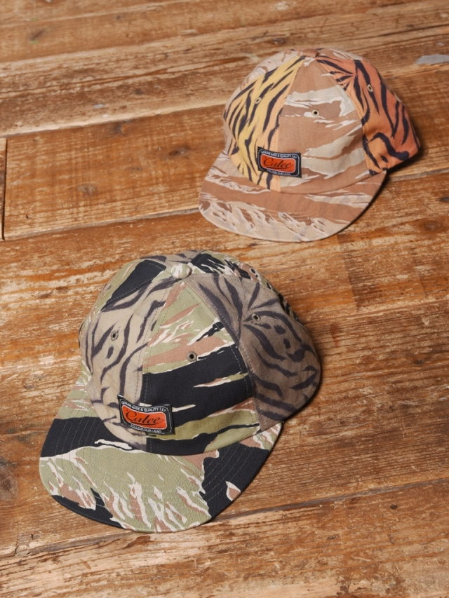 CALEE  「TIGER COMBINATION PATTERN CAP」  タイガーコンビネーションパターン キャップ