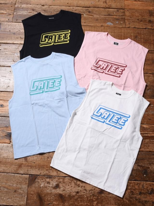 CALEE  「CALEE LOGO N/S T-SHIRT 」    ノースリーブ ティーシャツ