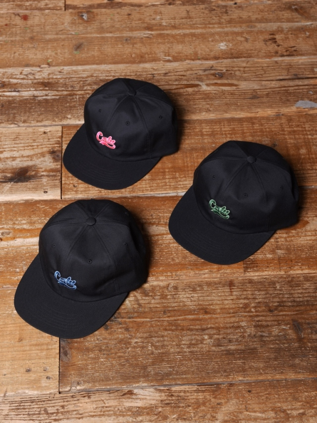 CALEE   「 T/C TWILL EMBROIDERY CAP」  T/C ツイルキャップ