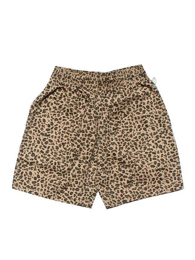 COOKMAN 「Chef Pants Short Leopard」 シェフパンツショート