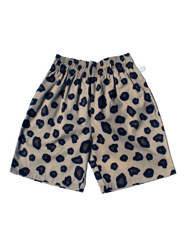 COOKMAN 「Chef Pants Short Big Leopard」 シェフパンツショート