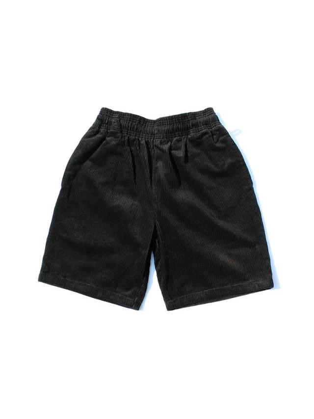 COOKMAN 「Chef Pants Short Corduroy Black」 シェフパンツショート