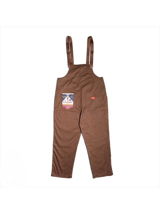 COOKMAN 「Fisherman's Bib Overall Chocolate」 オーバーオール