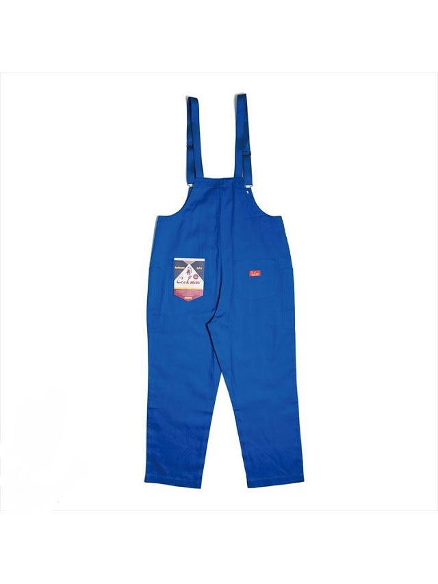 COOKMAN 「Fisherman's Bib Overall Deep Blue」 オーバーオール