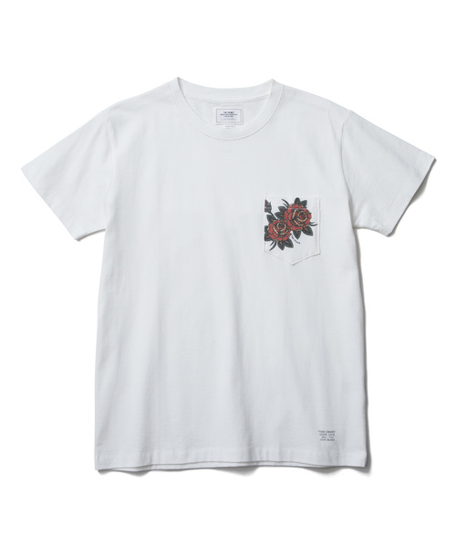CRIMIE   「ROSE POCKET T-SHIRT」 ポケットティーシャツ