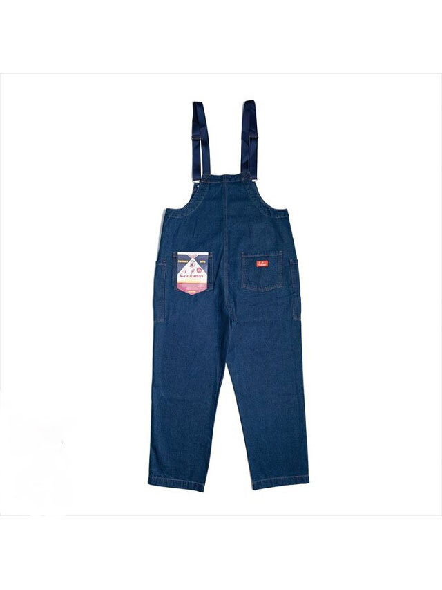 COOKMAN 「Fisherman's Bib Overall Denim Navy」 オーバーオール