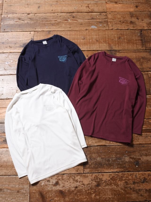 CALEE   「SMOOTH FABRIC SET IN 3/4 SLEEVE T-SHIRT」   セットイン8分丈ティーシャツ