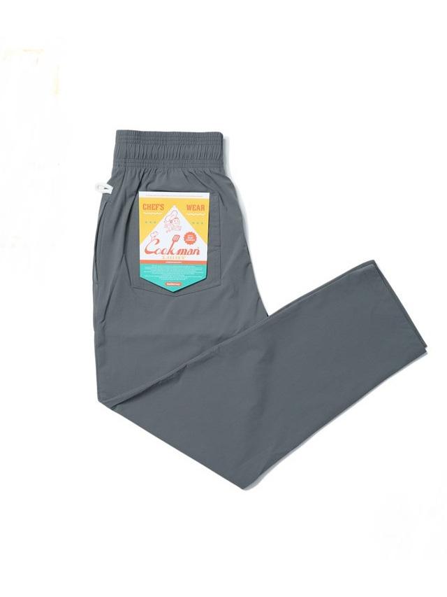 COOKMAN 「Chef Pants Light Gray」 シェフパンツ