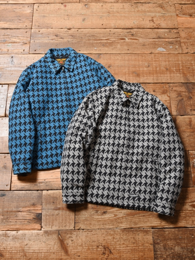 CALEE  「HOUND TOOTH PATTERN SWING TOP」  スウィングトップ