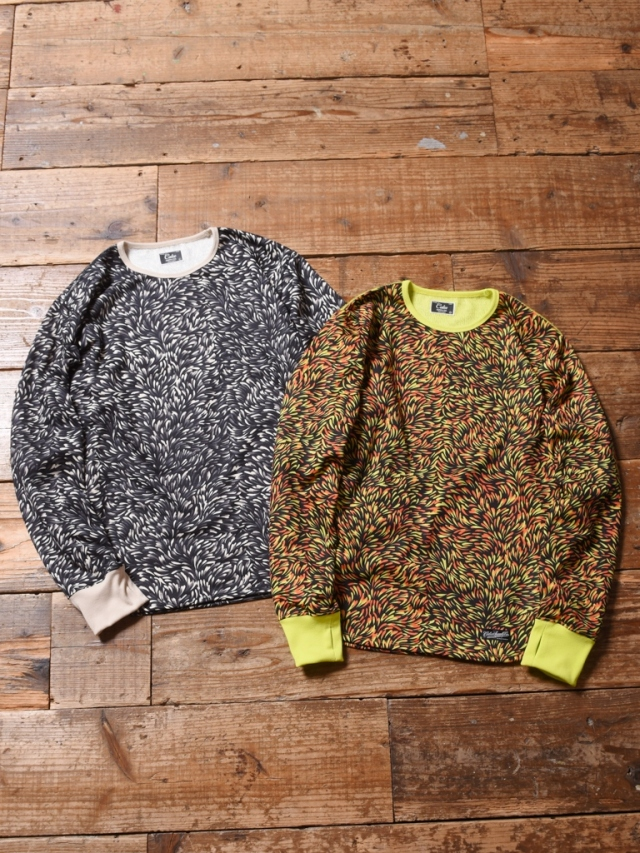 CALEE  「ALLOVER PATTERN L/S CUTSEW」 総柄カットソー