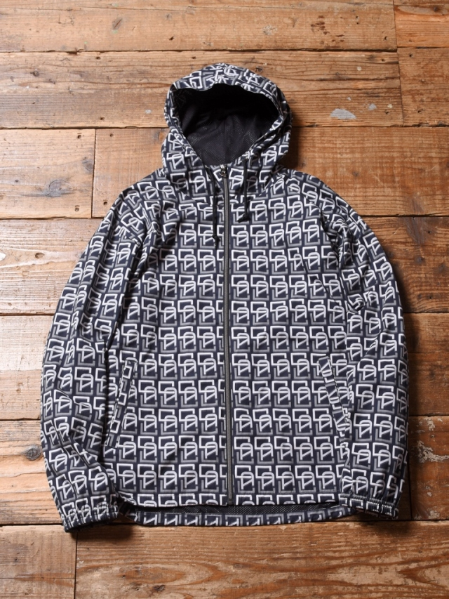 CALEE  「ALLOVER MONOGRAM PATTERN HOODED JACKET」  フードジャケット