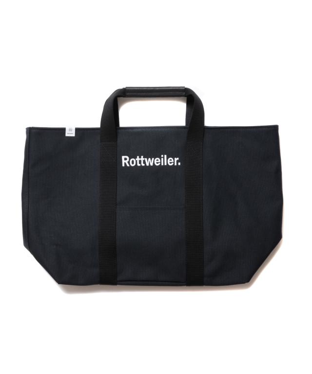 【予約商品:8月入荷予定】 ROTTWEILER   「Canvas Tote Bag Large  」  トートバッグ