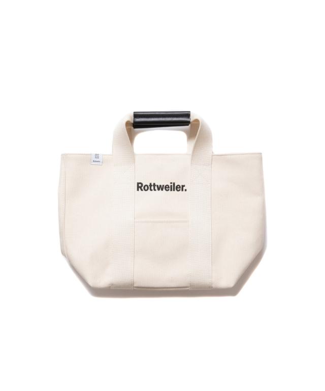 【予約商品:8月入荷予定】 ROTTWEILER   「Canvas Tote Bag Small  」  トートバッグ
