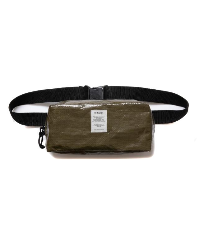 【予約商品:8月入荷予定】 ROTTWEILER   「M.I.L Waist Bag  」  ウエストバッグ