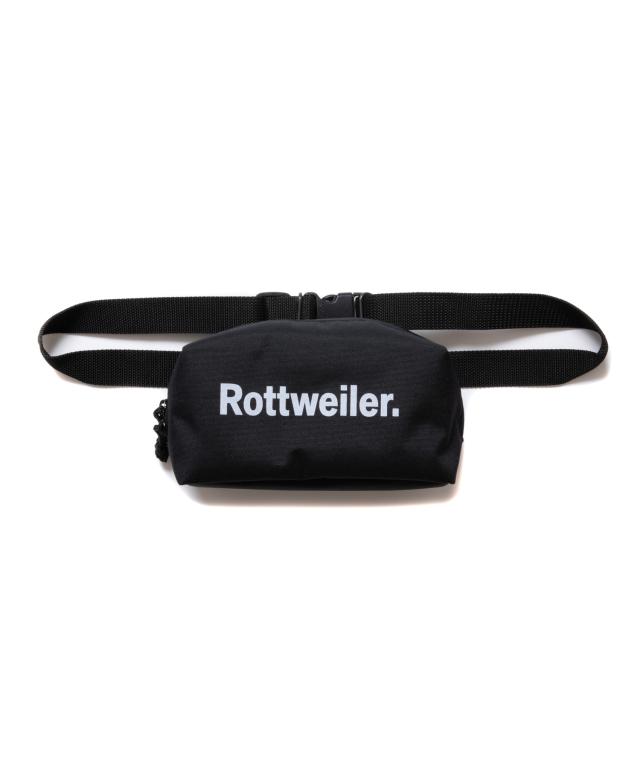 【予約商品:8月入荷予定】 ROTTWEILER   「Small R.W Waist Bag 」  ウエストバッグ