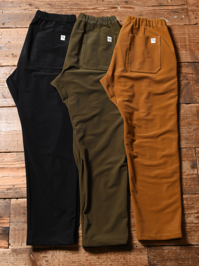 CALEE  「TRICOT KNIT 4WAY STRETCH EASY TROUSERS」    イージーテーパード トラウザーズ