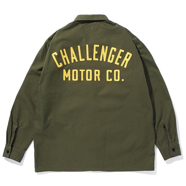 CHALLENGER    「MOTOR CO. SHIRT」 ワークシャツ